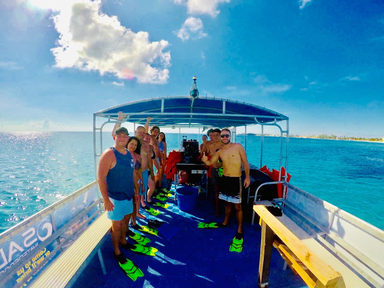 on the salt boat