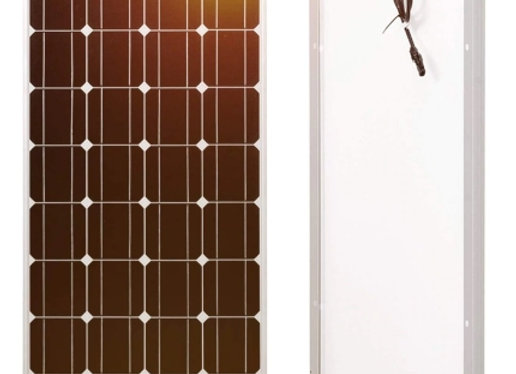Panneau solaire 100W monocristallin