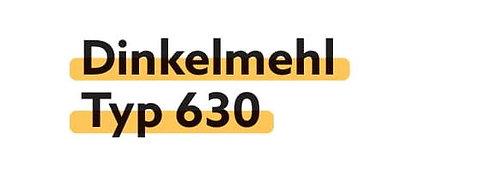 Dinkelmehl Typ 630