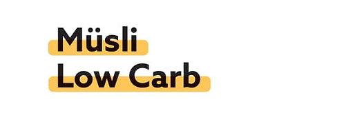 Müsli Low Carb