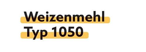 Weizenmehl Typ 1050