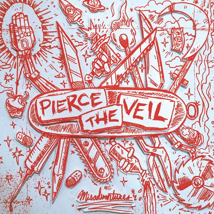 Pierce The Veil - Misadventures LP