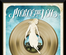 Pierce The Veil - Collide with the Sky RIAA GOLD