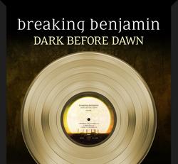Breaking Benjamin - Dark Before Dawn RIAA GOLD