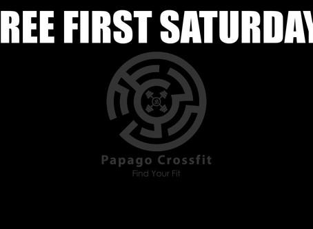 FREE First Saturday