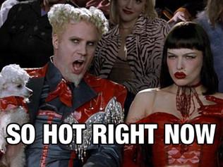 Thursday, So Hot Right Now