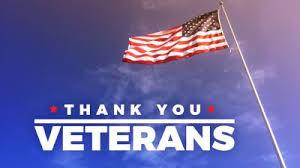 Monday Veterans Day