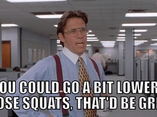 Monday Squat Day