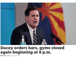 Update on Mandatory Gym Closure