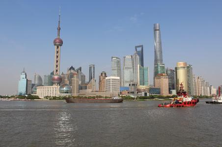 Shanghai; de grootste stad van China