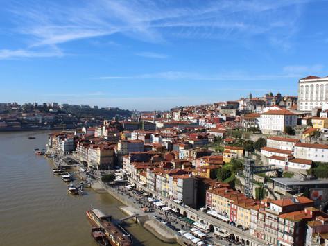Porto: port drinken in de zon