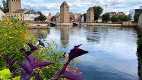 Straatsburg, de hoofdstad van de Elzas