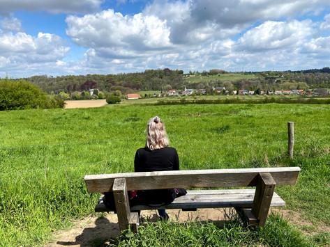 Wandelen in het Limburgse land