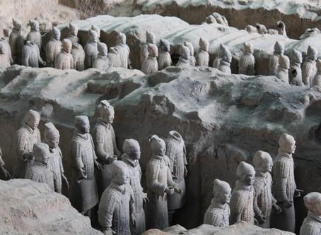 Xian; met zijn bijzondere terracotta leger in China