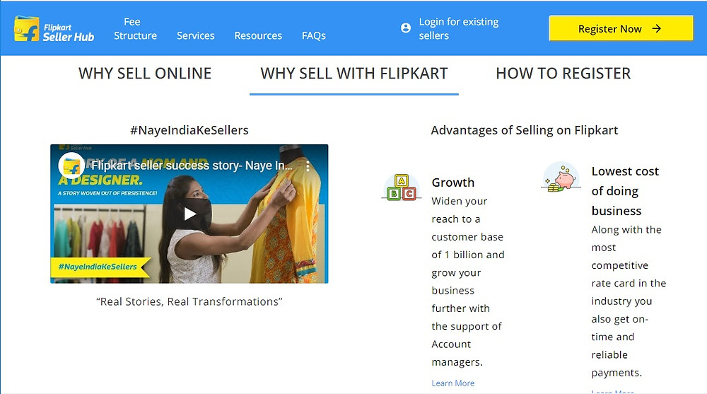Flipkart seller hub: Sell your products online