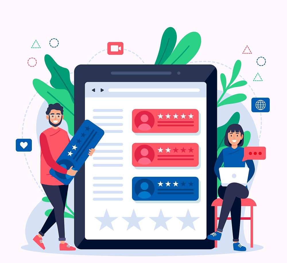 Customers' feedback in online business