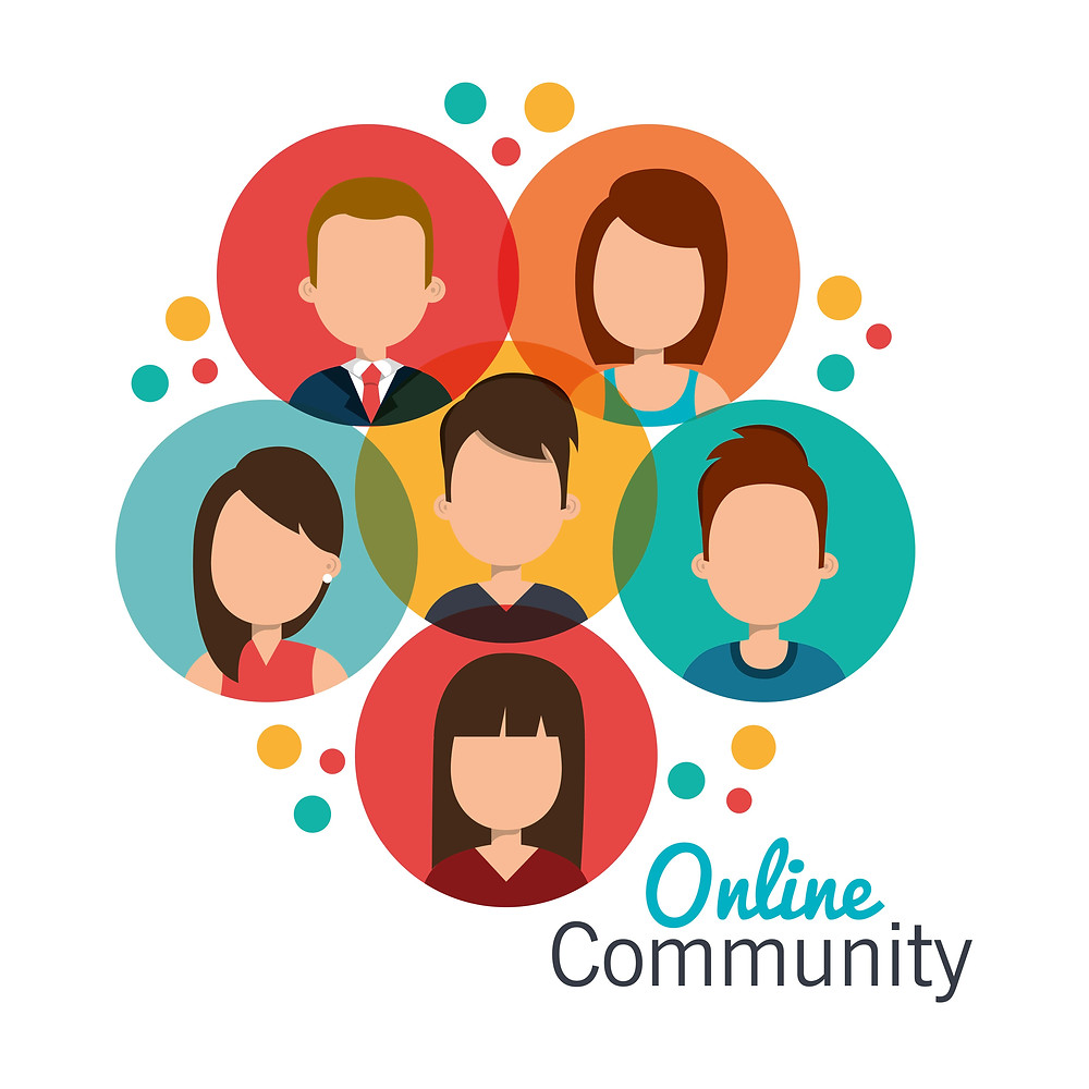 Build an online business community
