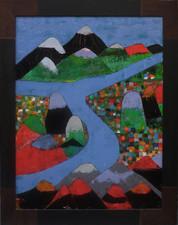 La rivière bleue - Nouvelle Calédonie