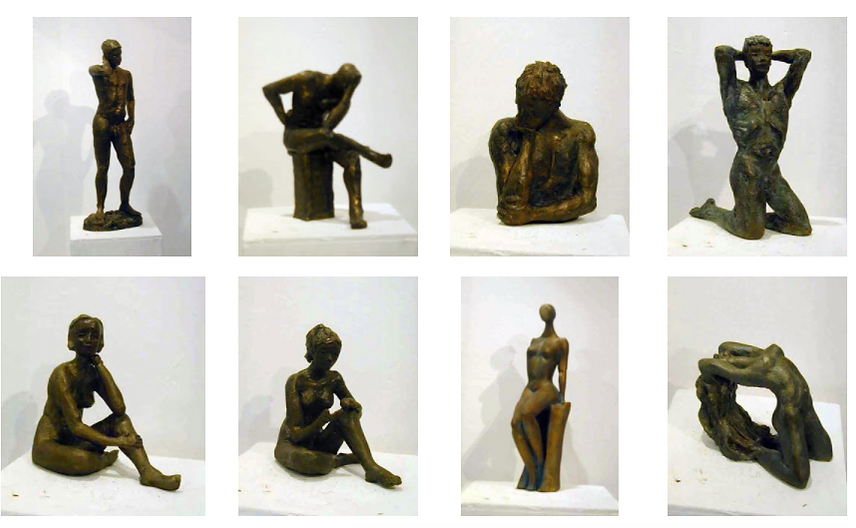 Anne Vergain, sculpture
