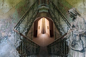 4. Beelitz Abandoned 4 - photo on canvas