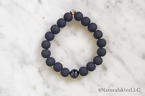 Black, Bold and Shine On Bracelet