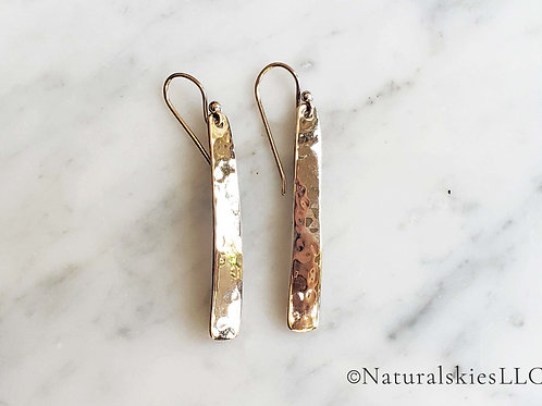 Barse Hammered Sterling Silver Earring
