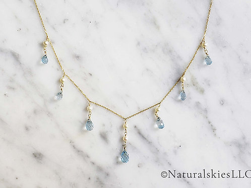 Classic Blue Princess Necklace