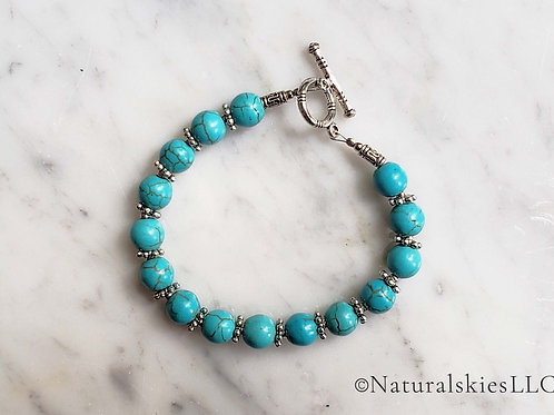 Classic Turquoise Bracelet