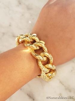 Classic Gold Chain Bracelet-03