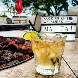 Traditional Mai Tai as Cocktail of the Week