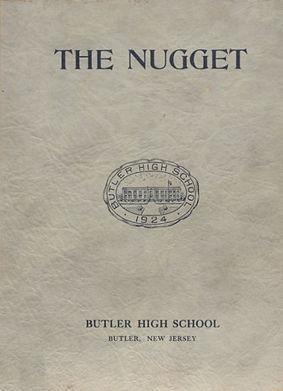 1934 Butler High School Yearbook The Nug