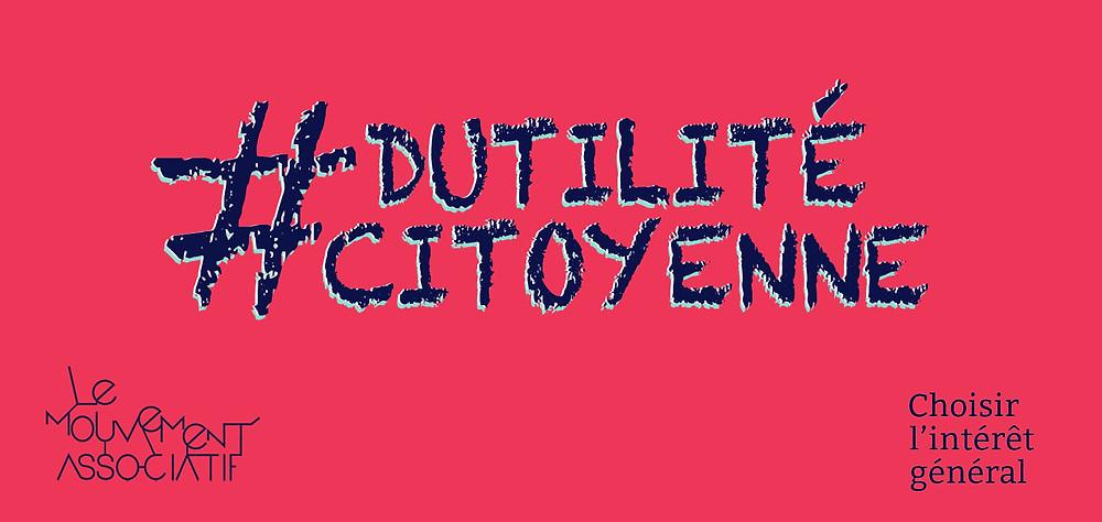 Bannière #dutilitécitoyenne