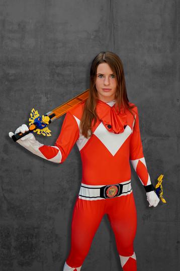 Ich bin ein Power Ranger :)