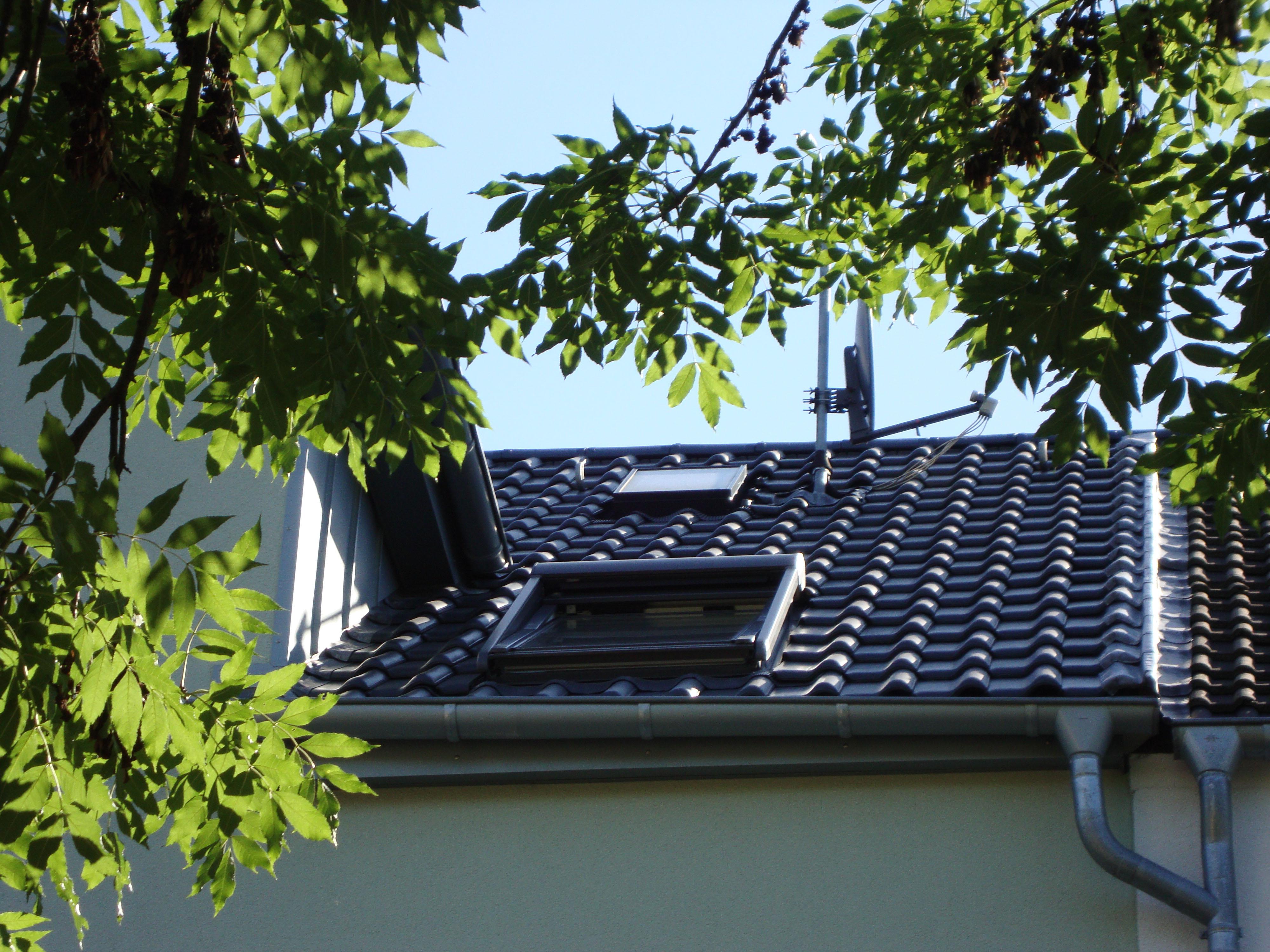 Dachfenster mit Rolllade
