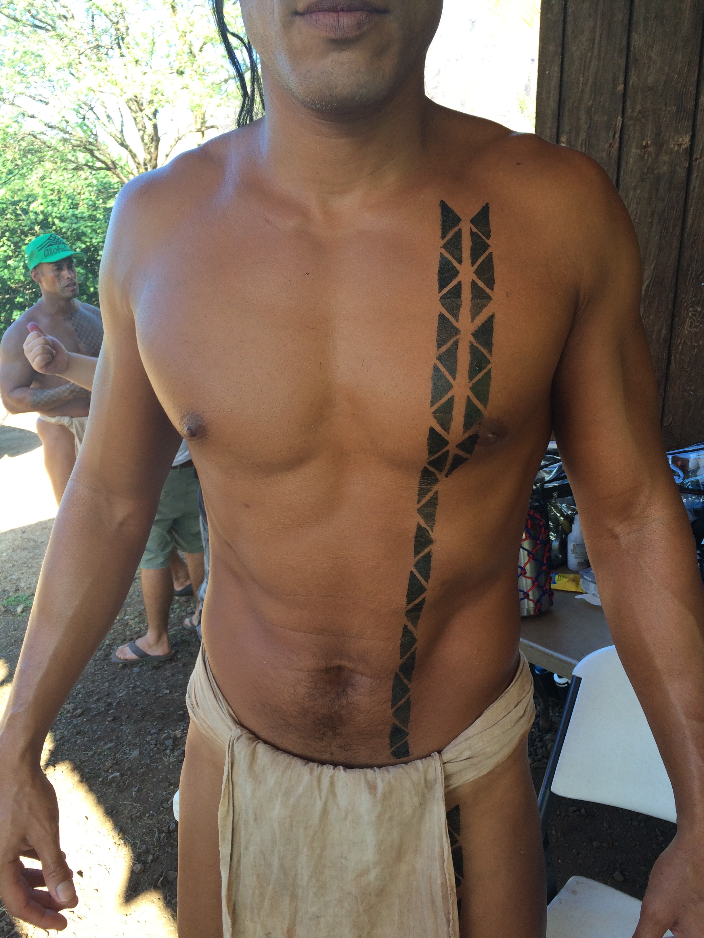 Ancient Hawaiian Tattoo