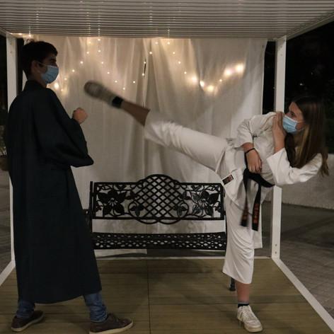 karate black belt tings