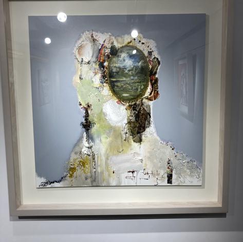 most art galleries were siu siu wack but i liked this artist!