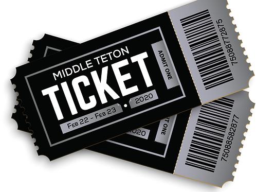 Middle Teton Ticket
