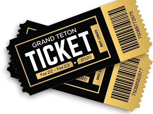 Grand Teton Ticket