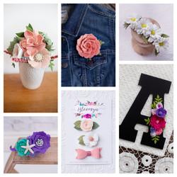Bloomzie Felt Florals