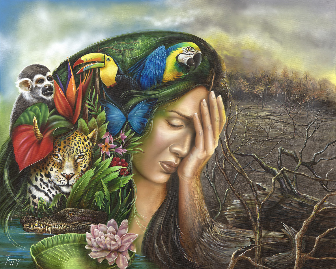 Amazonia- Mother Earth in Distress