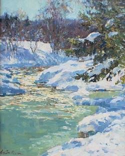Sparkling Winter Stream