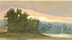 Lamoille River Sunset