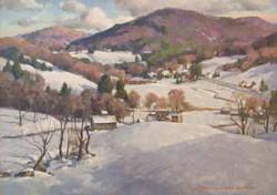Vermont Winter Village