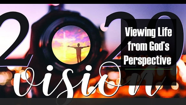 Viewing Life From God's Perspective Grap
