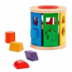 A shape sorter toy perfect for toddlers.
