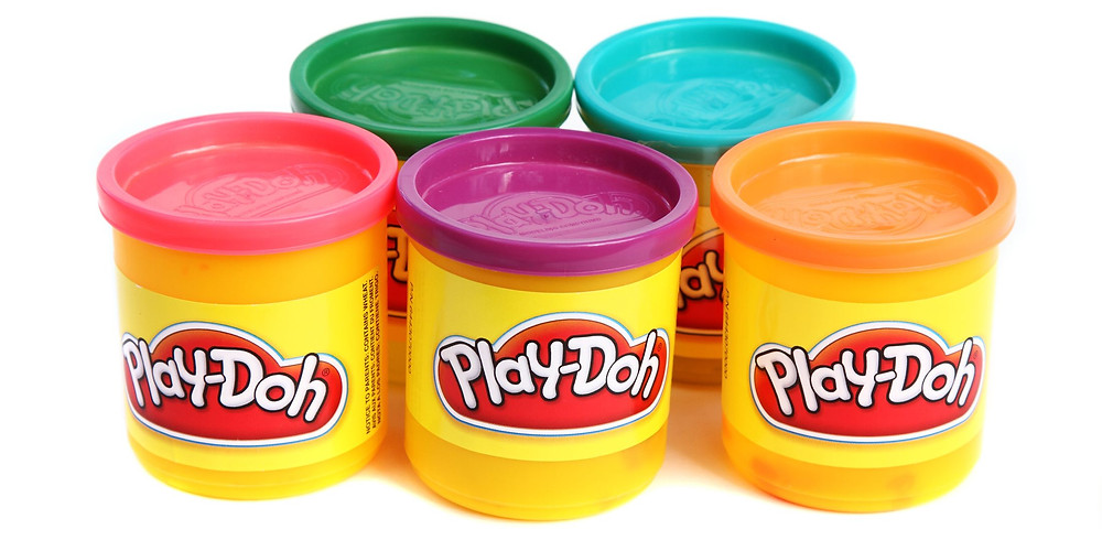 Play Doh for a great toy for young children.