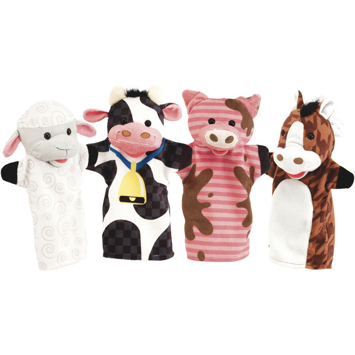 Hand puppets are a great toy for preschool and young grade school kids.