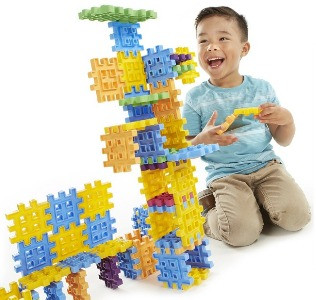 Waffle Blocks for preschoolers or toddlers.