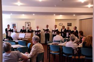18.06.2017 Cafe Konzert von Laudate gemeinsam mit dem Chor Ramtei aus Mönchengladbach